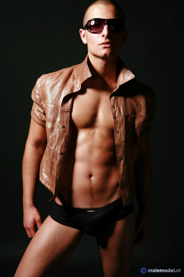 Daniel sexy in leather jacket #5