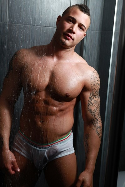getting hot shower