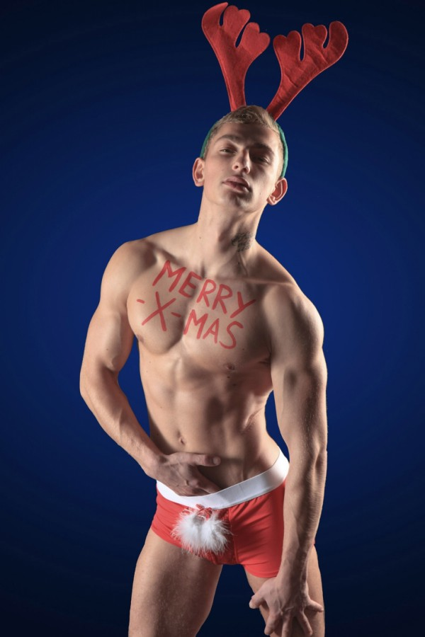 Ingo blond athletic christmas twink #2