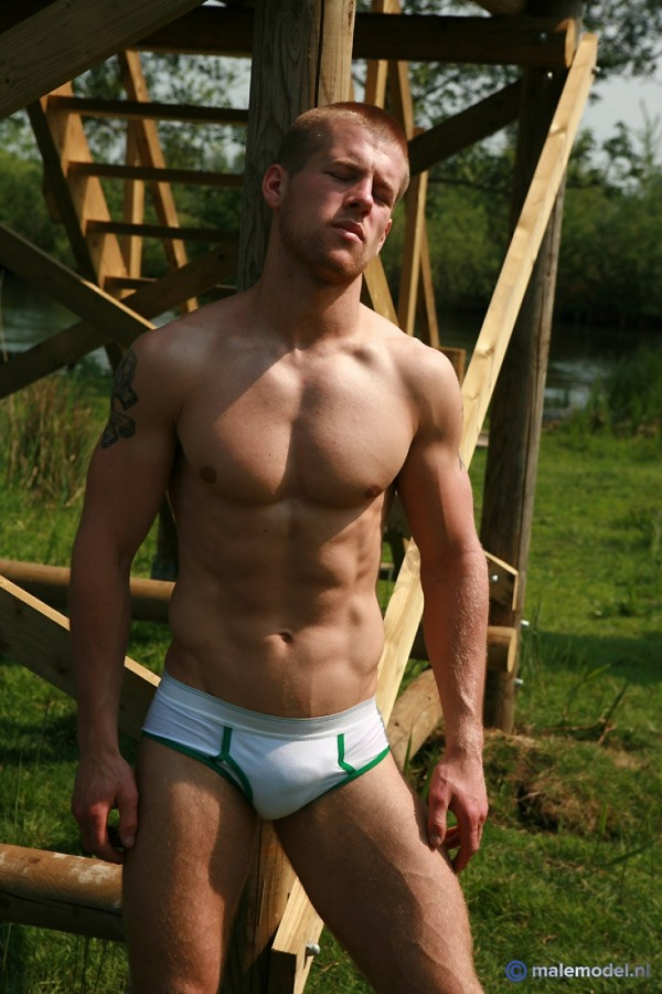 Jason nude in nature! #2