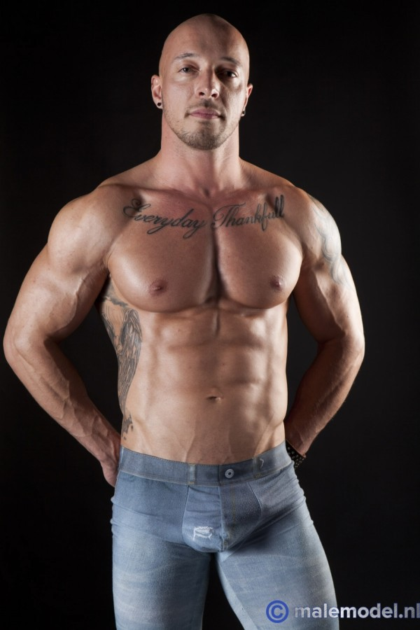 Jozef very muscular guy from begium #1