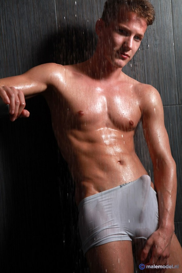 Peter getting shower here #2
