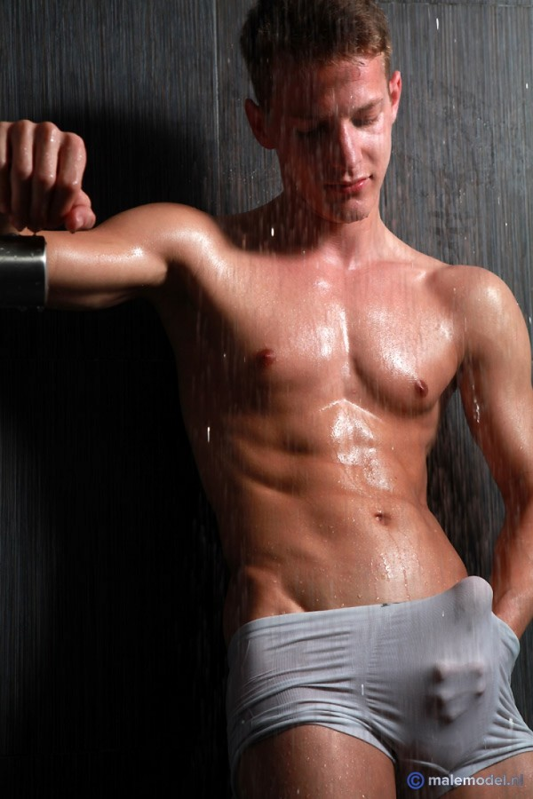 Peter getting shower here #3