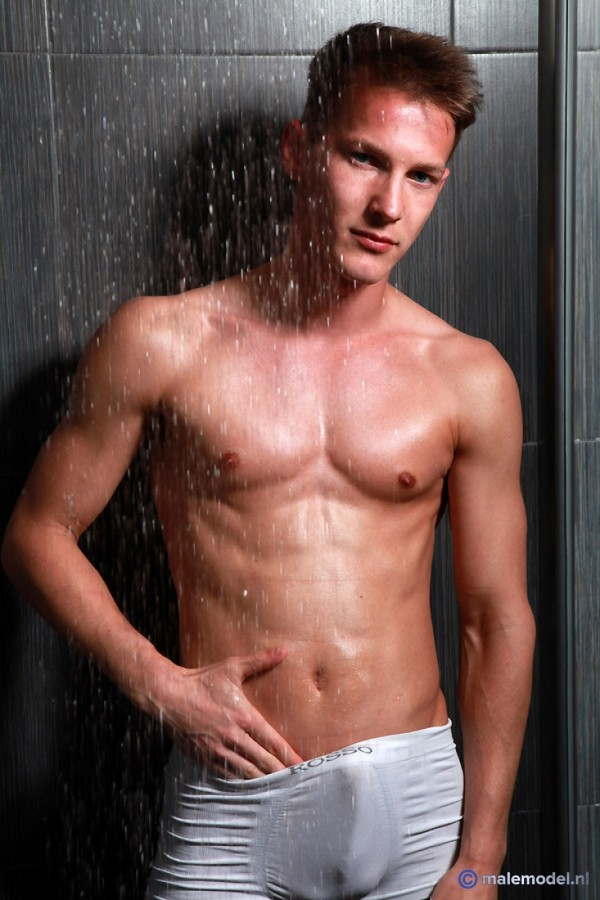 Peter getting shower here #4