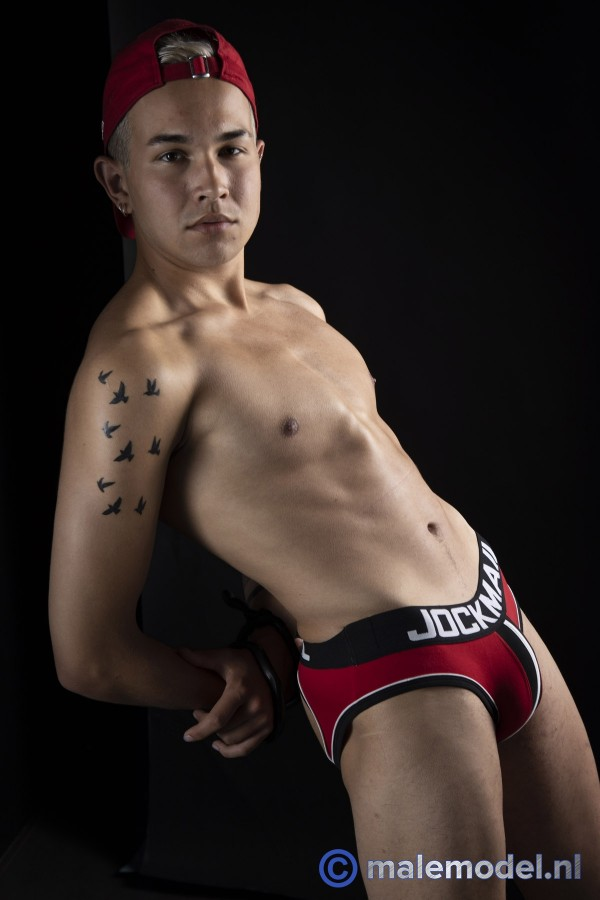 Studio shoot blond twink #4