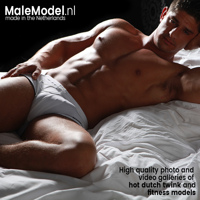 MaleModel NL - High quality photo and video galleries of hot Dutch twink and fitness models.